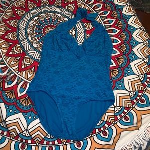 One piece women's swimsuit size 1X